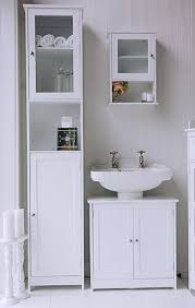 Bathroom Furniture Freestanding Interior White Freestanding Bathroom Cabinet Grey Bathroom