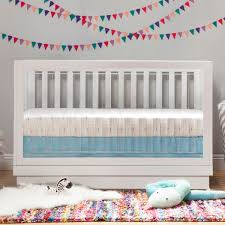 Harlow 3 In 1 Convertible Crib Babyletto Harlow 3 In 1 Convertible Crib In White Finish White
