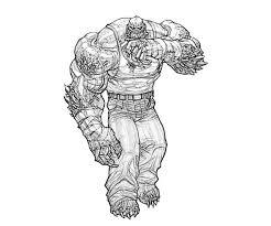 printable batman arkham killer croc weapon coloring pages