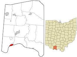 Map Of The State Of Ohio by Manchester Ohio Wikipedia