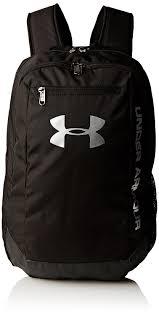 amazon com under armour unisex ua hustle backpack ldwr black