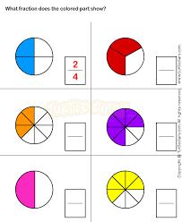 fractions worksheet 13 math worksheets grade 1 worksheets