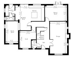 architecture floor plan fashionable 11 floor plan of a house with dimensions 1000 ideas