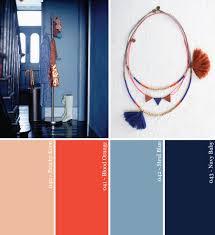 Blue Orange Color Scheme Hue It Yourself Moody Blues Copper Hues Party Color Palette