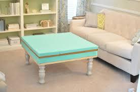 Living Room Table Ottoman Brilliant Diy Ottoman Coffee Table With Coffee Table Coffee Table