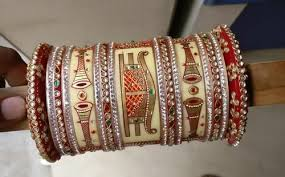 wedding chura bangles bridal chura bangles rajasthani chura at rs 1600 unit handmade