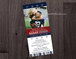 sport ticket bridal shower invitation or wedding invite u2013 designed
