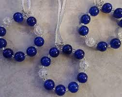 glass bead ornament etsy