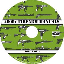 4000 firearm manuals dvd rifle carbine pistol shotgun revolver
