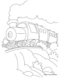 train coloring 7 download free train coloring 7
