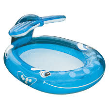 Backyard Blow Up Pools by Intex Inflatable Whale Spray Pool Outdoor Pools