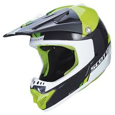 cheap kids motocross helmets scott 350 pro track white orange offroad helmets cheap hottest new