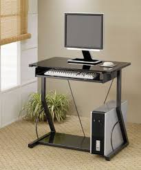 Narrow Computer Desk With Hutch by Narrow Small Computer Desk Design