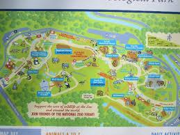 washington dc trolley map zoo map picture of national zoological park washington dc