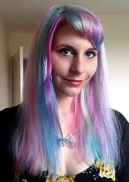 pony hair pastel unicorn my pony hair dye tutorial