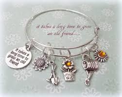 best friend gift best friend charm bracelet gift for old friends