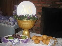 communion table centerpieces utopia party decor communion party decor