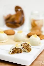 white chocolate pumpkin gingersnap truffles keepin u0027 it kind