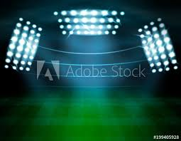 how tall are football stadium lights football stadium lighting composition buy this stock vector and