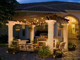 Collection In Patio Light Ideas With 53 Patio Lighting Exterior