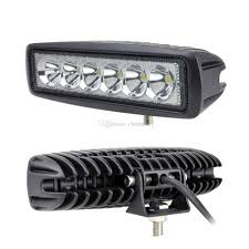 12v led light bar 6 inch mini 18w led light bar ip67 4x4 4wd tractor car atv spot