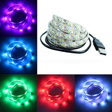 dc led strip lights 50cm 1m 2m 3m 4m 5m usb led strip light dc 5v 3528 smd ip65