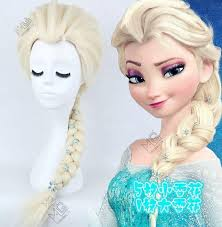 anna from frozen hairstyle brand new frozen snow wig anna elsa wig flowers long braid