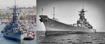 Bathtub Battleship Battleship Uss Iowa Museum Socal Museums