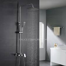 Quality Faucets Quality Brass Square Top And Hand Shower Faucets