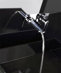 Contemporary Faucets Contemporary Waterfall Faucets Riflessi From Gessi Digsdigs