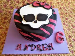 beauty monster high birthday cake u2014 criolla brithday u0026 wedding