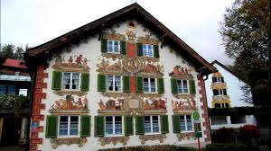 Painted Houses Painted Houses In Bavaria Hd1080p Youtube