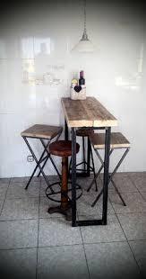 Breakfast Bar Table Breakfast Bar Table U0026 Two Bar Stools Rustic By Redcottagefurniture