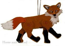 jaunty fox ornament collector ornaments decor by