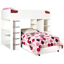 Bunk Bed With Desk And Stairs Loft Beds White Wooden Loft Bed Beds Twin With Desk And Stairs