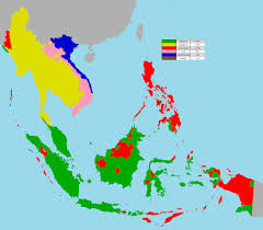 Blank Map Of East Asia by Religion In South East Asia 1912 X 1680 Mapporn