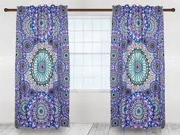 Sunshine Drapery Single Panel Tapestry Curtains By Sunshine Joy