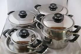 amc cuisine amc ensemble des casseroles de 12 pièces pots de cuisine cocottes