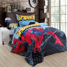 Boys Double Duvet Sets Spiderman Bedding Sets Queen Size Double Twin Bed Sheet Quilt
