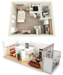 Studio Apartment Floor Plan Design Amazing Apartments Modern One Bedroom Apartment Interior Design