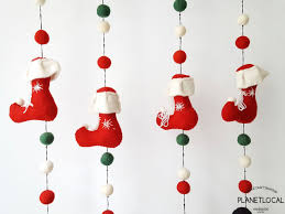 Christmas Wall Pictures by Handmade Christmas Wall Hanging Decor With Santa Claus Christmas