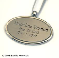 urn pendants engraved urn pendant for personalized urns
