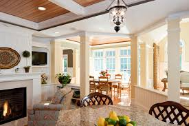 Open Floor Plan View Of Breakfast Room Addition Traditional - Dining room addition