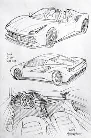 ferrari sketch side view best 25 car drawings ideas on pinterest drawings of cars