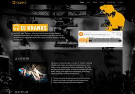 bootstrap music template dj kranks the bootstrap themes