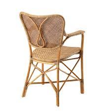 Wicker Chair Eichholtz Rattan Chair Colony With Arm