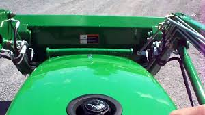 driving a john deere 2305 compact tractor youtube