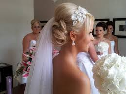 bridal back hairstyle back and front views of bridal updos with veil stylish hairstyle