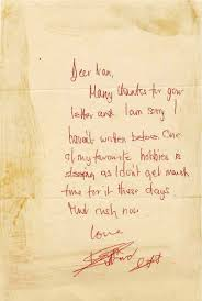 keith richards likes to sleep and answer letters from fans gary