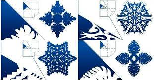 how to make schemes of paper snowflakes step by step diy tutorial